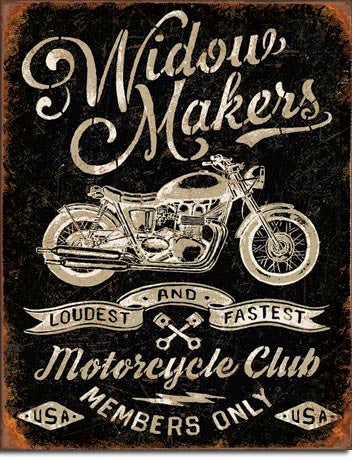Widow Maker's Cycle Club - 2076