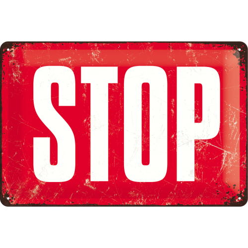 Achtung - STOP