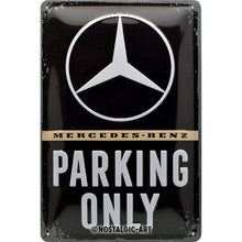 Mercedes Benz - Parking Only