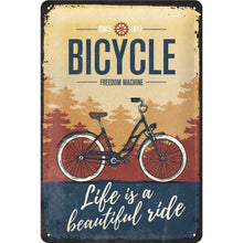 Bicycle Beautiful Ride - Skilti