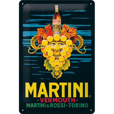 Martini - Vermount Grapes - Skilti