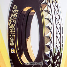 Goodyear - Rainbow Wheel - Skilti
