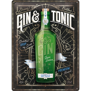 Gin & Tonic Green Edition  - Skilti