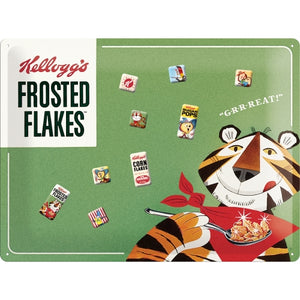 Kellogg´s Frosted Flakes Segulskilti