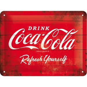 Coca Cola - Logo Red Refresh Yourself - skilti