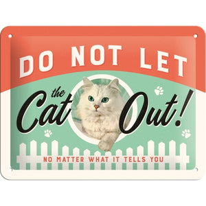 Do Not Let the Cat Out - Skilti