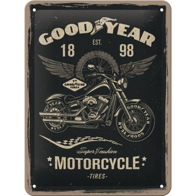 Goodyear Motorcycle - Skilti