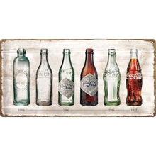 Coca Cola - Bottle Timeline