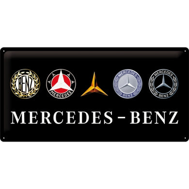 Mercedes Benz Logo Evolution