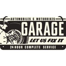 Garage - Let Us Fix It - Hangandi Skilti