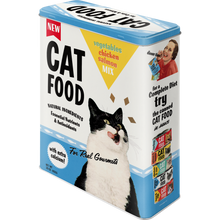 Cat Food - Vegetables, Chicken, Salmon Mix - Box XL