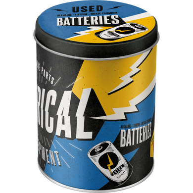Electrical - Used Batteries - Box