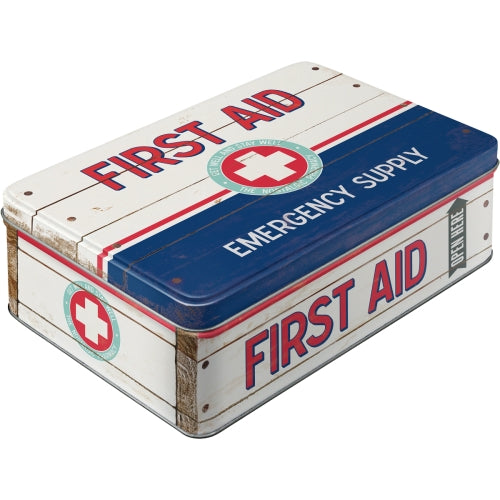 First Aid Blue - Emergency Supply - Box