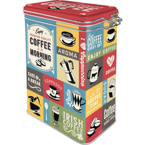 Coffee Collage - Þurrvörubox