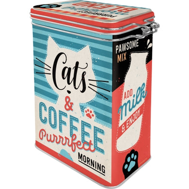 Cats and Coffee - Þurrvörubox