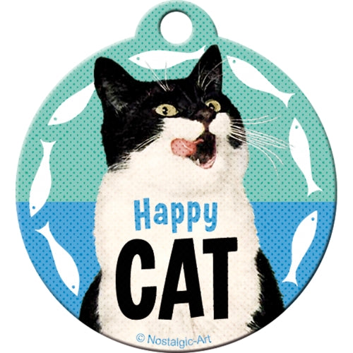 Lyklakippa - Happy Cat