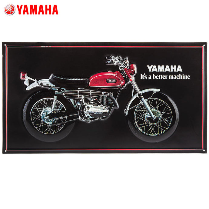 Yamaha motorcycle sign