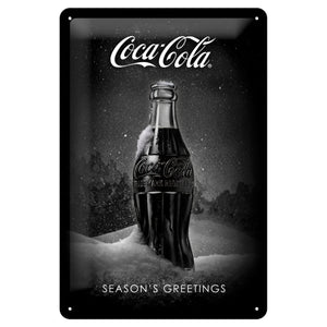 Coca-Cola Special Edition Snow Black Bottle - Skilti