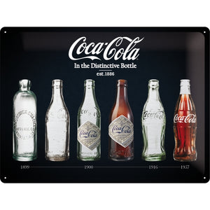 Coca Cola - Bottle Timeline - Special Edition