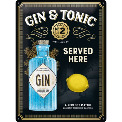Gin & Tonic Served Here - Special Edition