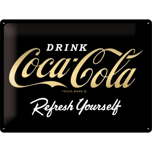 Coca Cola - Logo Black Refresh Yourself - Special Edition
