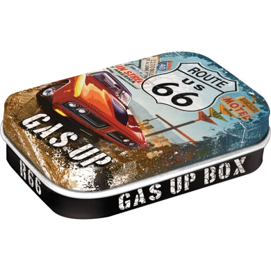 Myntubox - Route 66 Red car Gas UP