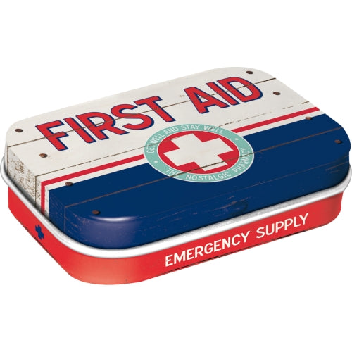 Myntubox - First Aid Blue - Emergency