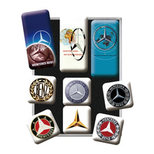 Mercedes Benz Logo Evolution - Seglar - Sett