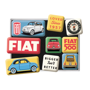 Fiat 500 - Loved Since 1957 - Seglar-Sett