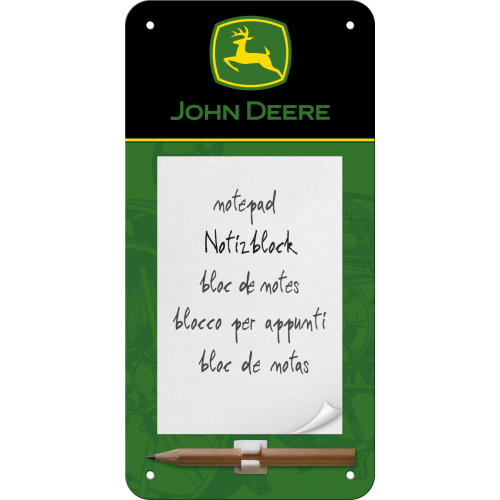 John Deere Logo – Black and Green - minnismiðar
