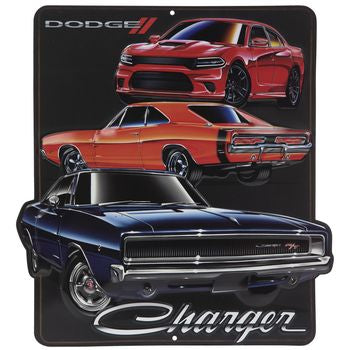 Dodge Charger - málmskilti