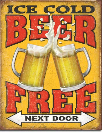Free Beer - Next Door - 2128