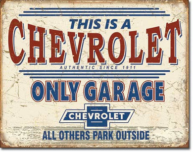 Chevy Only Garage - 2200