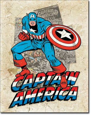 Capt America - Cover Splash -  2206