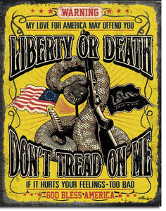 Dont Tread on Me - Warning - 2234