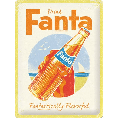 Fanta Bottle Beach - Special Edition - Skilti
