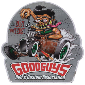 Goodguys Rod  - málmskilti