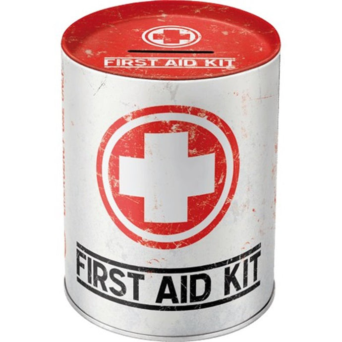 First Aid Kit - Money Box