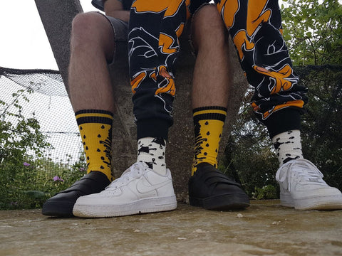 Mustard Performance Socks