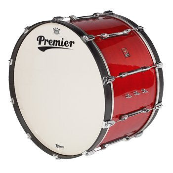 28 x 14 Premier Bass Drum, Choice of Colors, Black/Red/Blue