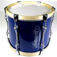 Andante 14x12 PRO Tenor Drum - Dark Blue with Silver Powder Coat Metalwork