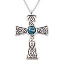 Heathergems Celtic Cross Embossed Pendant