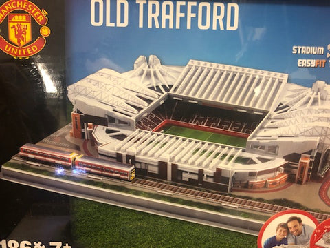 Manchester United,  Old Trafford Soccer Stadium 3D Puzzle