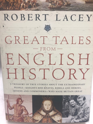 Great Tales From English History Book