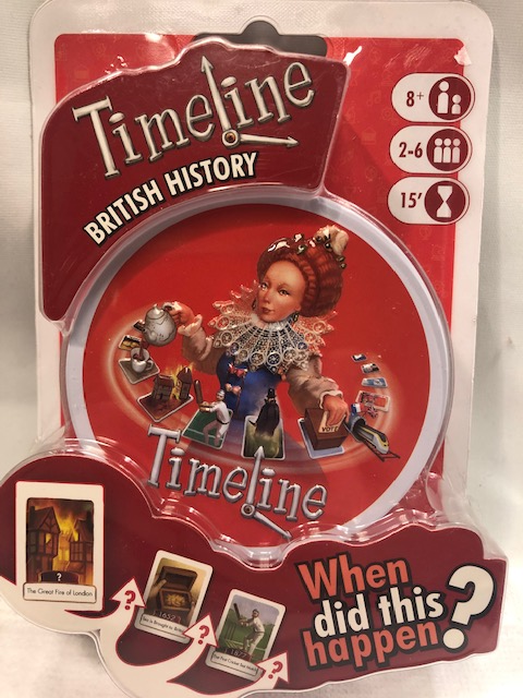 Timeline of British History Card Game