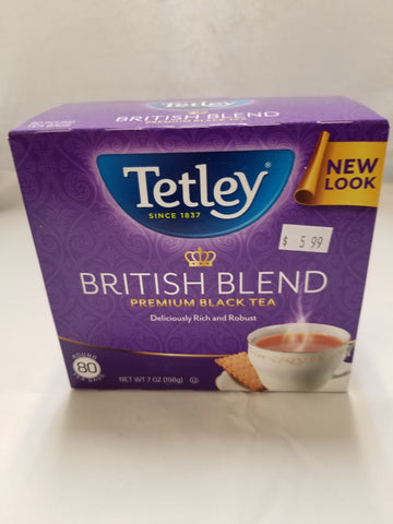 British Tetley Tea Bags