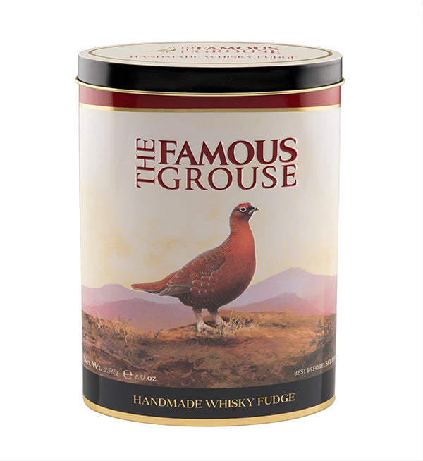 The Famous Grouse Whisky Fudge Tin 250g