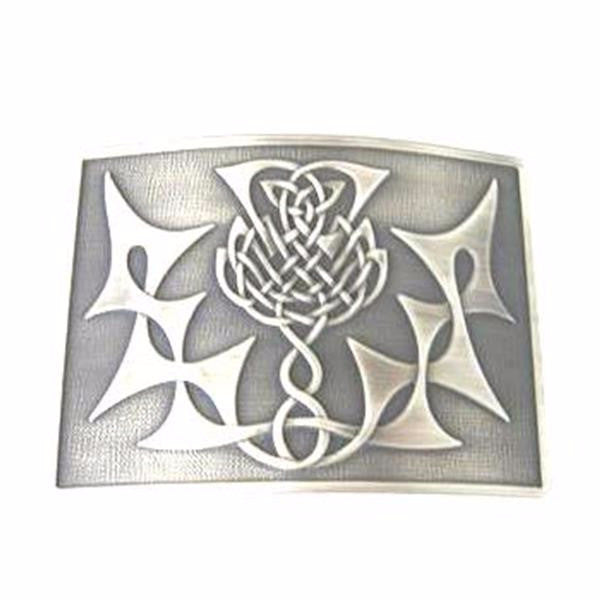 Glen Esk Highland Thistle Buckle – Antique