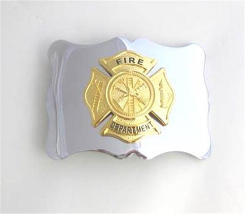 Gold Fire Department Badge