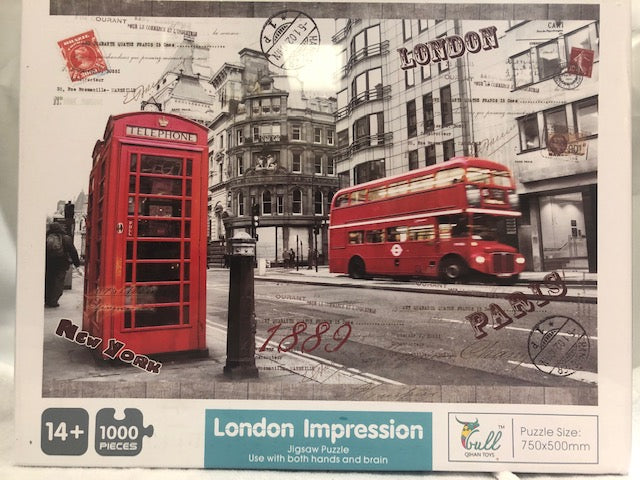 London Impression 1000 piece Puzzle